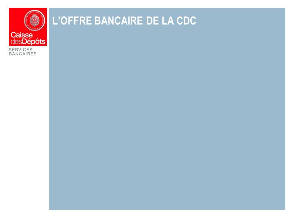 LOFFRE BANCAIRE DE LA CDC