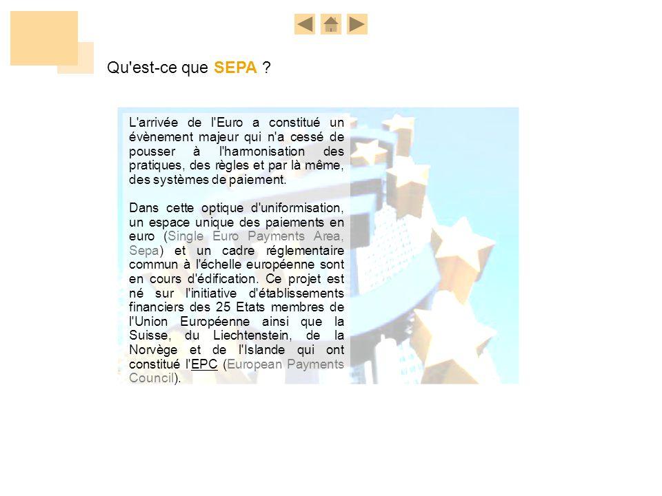 SEPA info Nous avons anticipé les impacts de ces évolutions de Place sur nos relations « banque à client ».