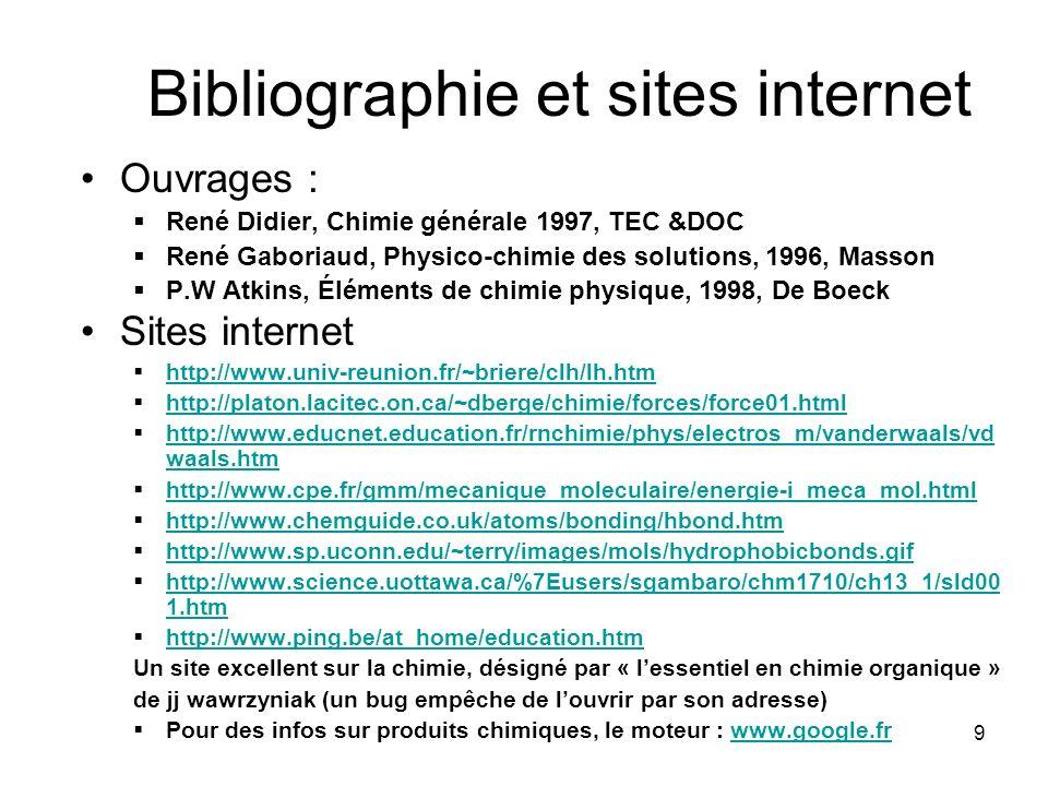 10 Fin du diaporama Textes, mise en page et compilation internet : Robert GLEIZE (membre du Groupe dExperts pour les programmes de S.P.C) Le fichier original est : cohesion trouvé sur : www.ac-grenoble.fr/phychim/prem/tp/orga/cohesion.ppt