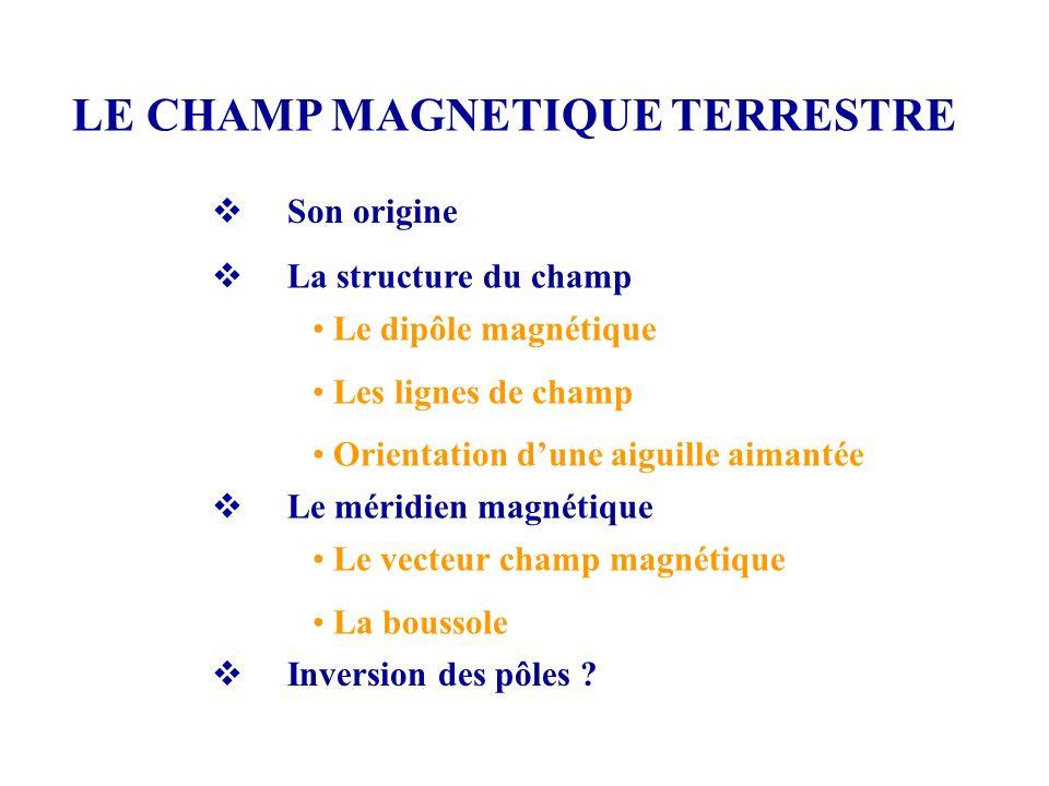 Importance du champ magnétique terrestre Magnétosphère Un article de Wikipédia, l encyclopédie libre.
