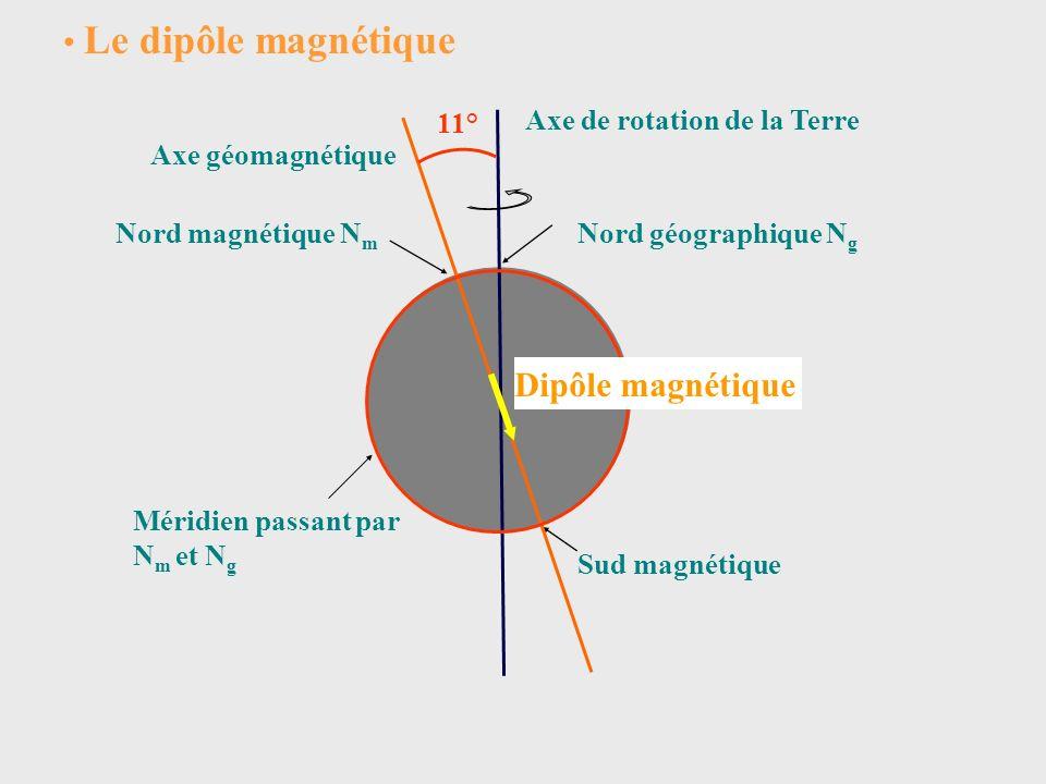 Le pôle Nord magnétique est situé actuellement, dans le nord du Canada, à 1290 km au nord-ouest de la baie dHudson.