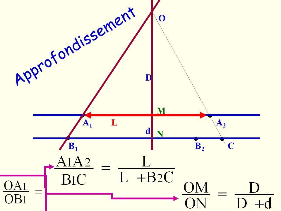 D d O A1A1 A2A2 B1B1 B2B2 C M N L