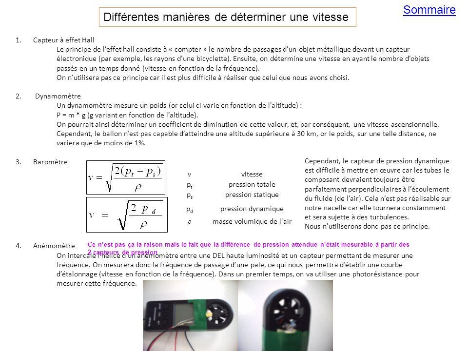 1.Capteur à effet Hall Le principe de leffet hall consiste à « compter » le nombre de passages dun objet métallique devant un capteur électronique (pa