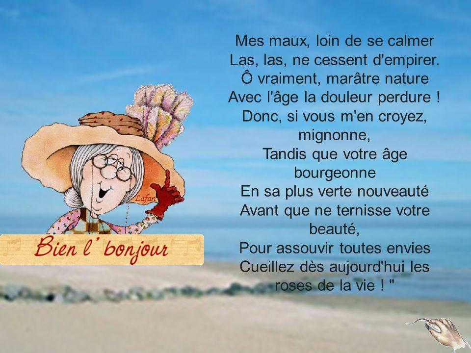 Un petit poème à la manière de Ronsard, pour les anciens !!.