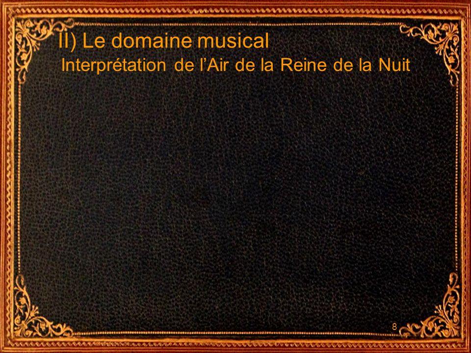 9 II) Le domaine musical Lanalyse