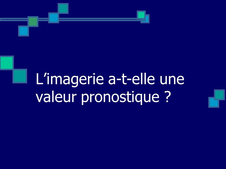 Limagerie a-t-elle une valeur pronostique ?