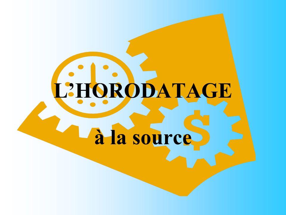 LHORODATAGE à la source