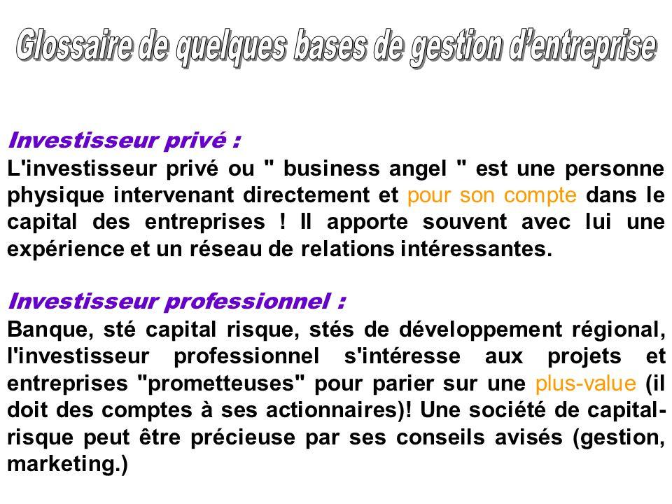 Investisseur privé : L'investisseur privé ou