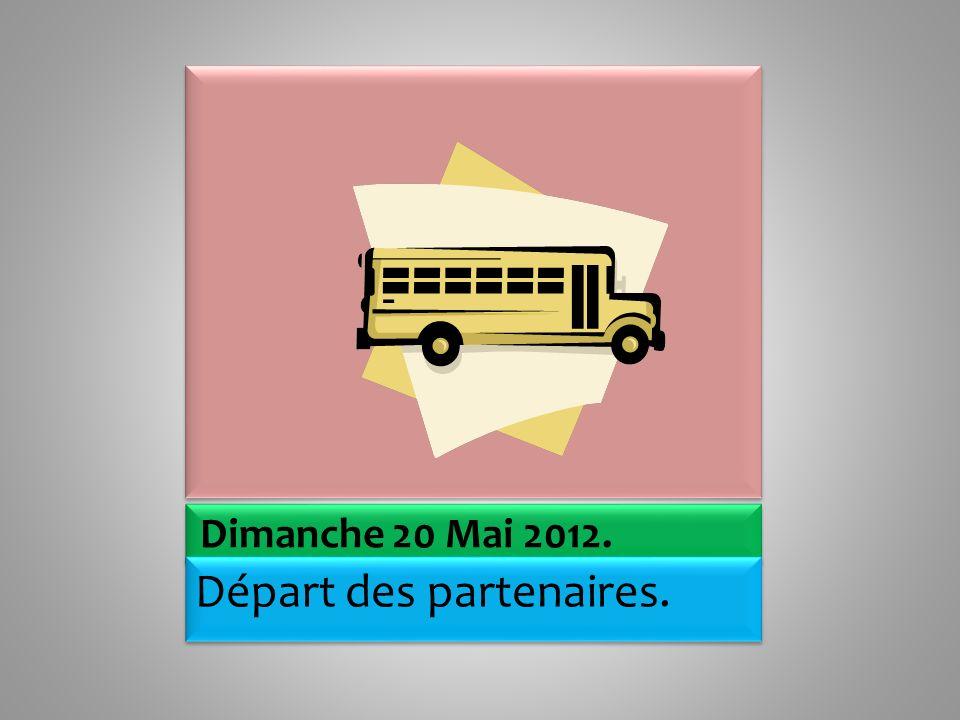 Samedi 19 Mai 2012 Matin : visite du musée du Louvre.