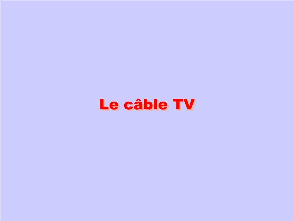Le câble TV