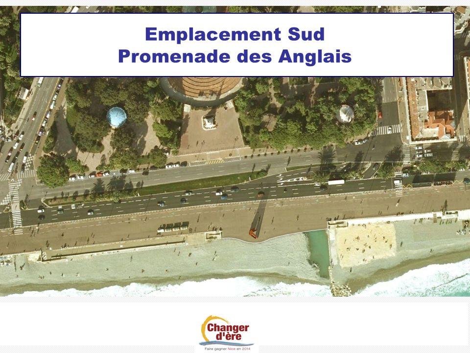 Emplacement Sud Promenade des Anglais