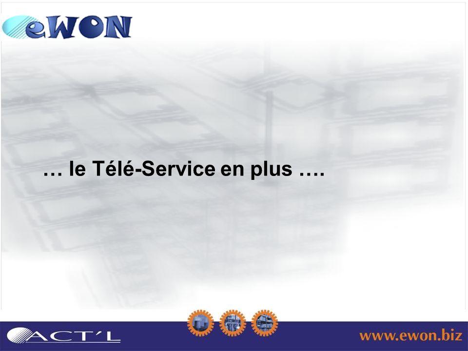 … le Télé-Service en plus ….