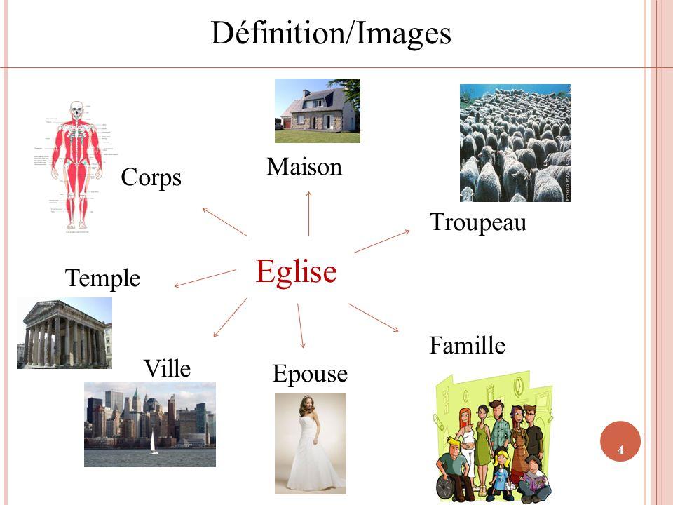 4 Définition/Images Eglise Maison Corps Troupeau Famille Epouse Ville Temple
