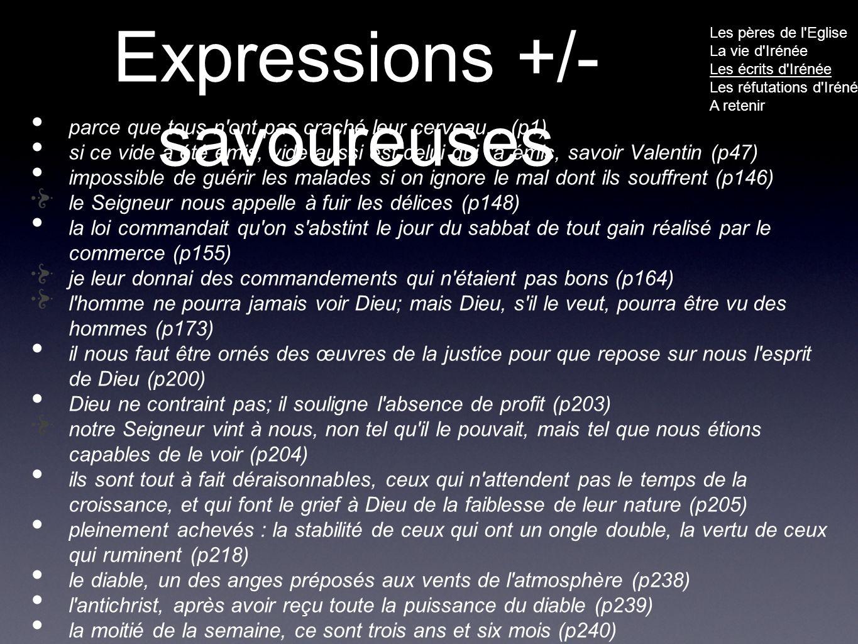Expressions +/- savoureuses parce que tous n ont pas craché leur cerveau...