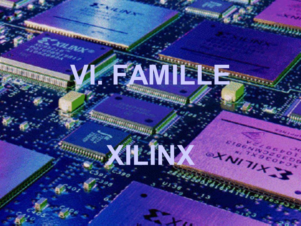 VI. FAMILLE XILINX