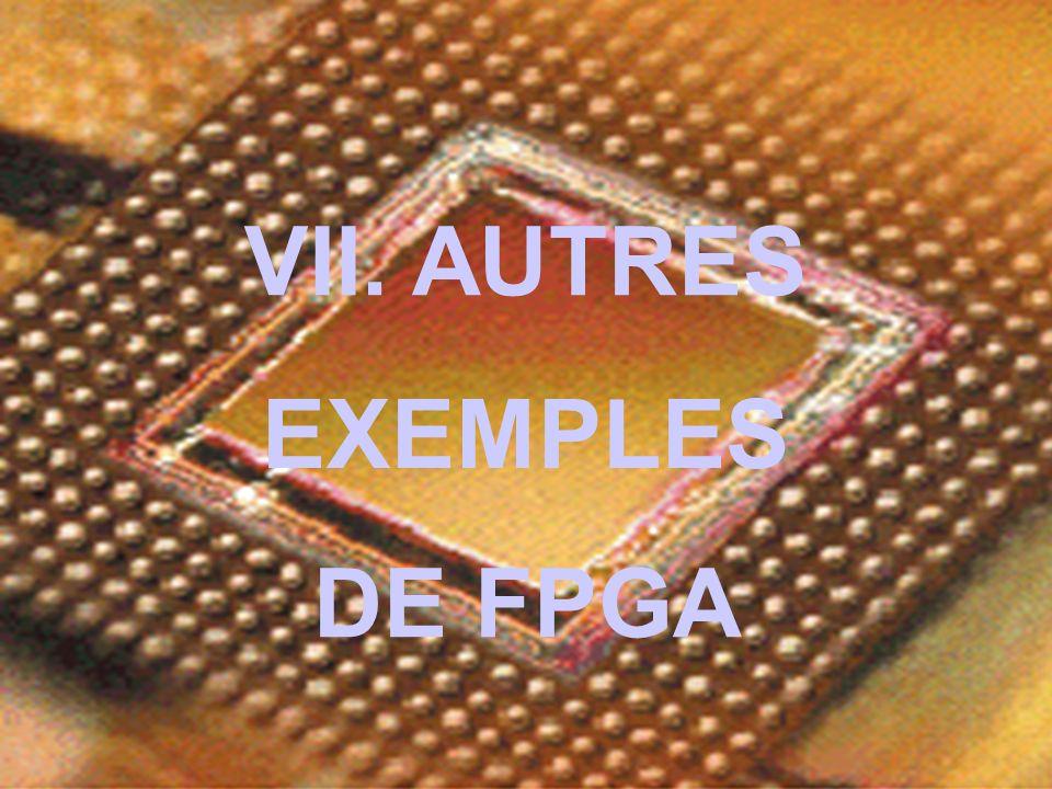 VII. AUTRES DE FPGA EXEMPLES