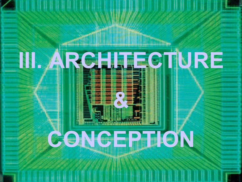 III. ARCHITECTURE CONCEPTION &