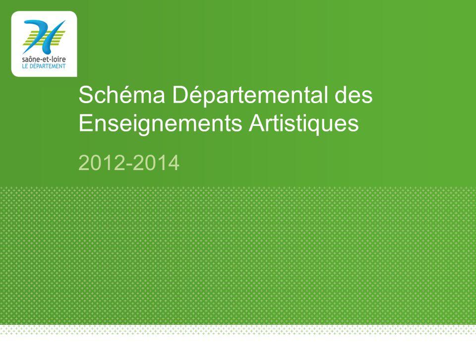 Schéma Départemental des Enseignements Artistiques 2012-2014