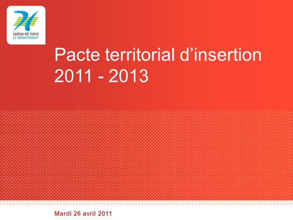 Élaboration du pacte + Le PTI .