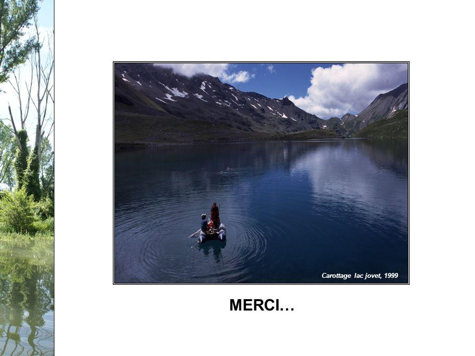 Séminaire PCB-Rhône, 12 février 2009 Carottage lac jovet, 1999 MERCI…