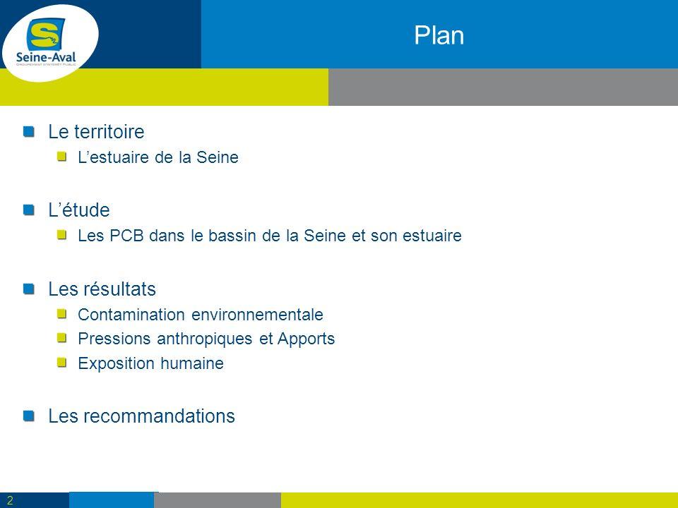 Contamination sédimentaire (2/3) 13 Les résultats – Contamination environnementale Lestuaire de la Seine Contamination diffuse Présence de points chauds (activités, sédimentation active,…)