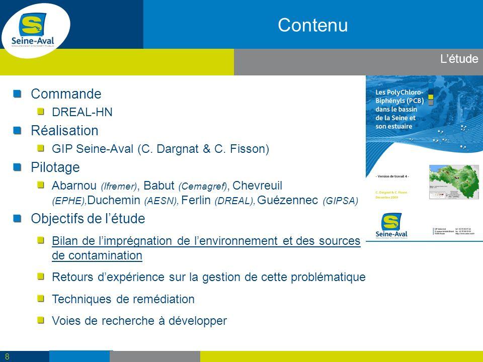 Contenu Commande DREAL-HN Réalisation GIP Seine-Aval (C.