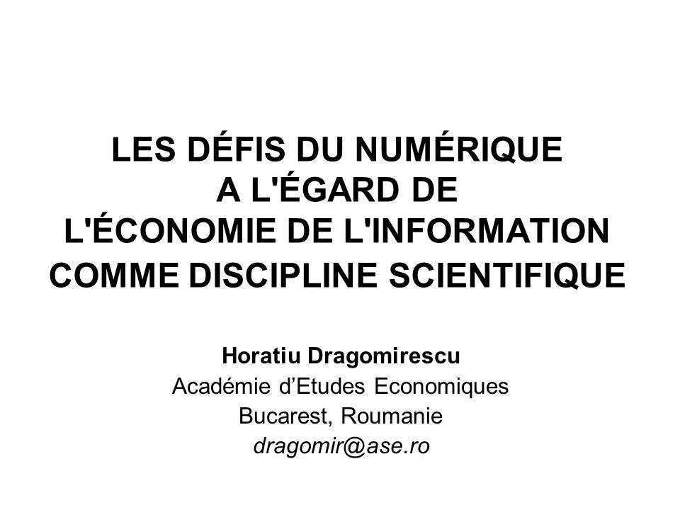 ALTERNATIVES AU RÉGIME MARCHAND DE LINFO (suite) Le gratuit: Motivations de la production intellectuelle sans compensation (Picard, 2005): - sexprimer - raisons créatives: scientifiques, artistiques etc.
