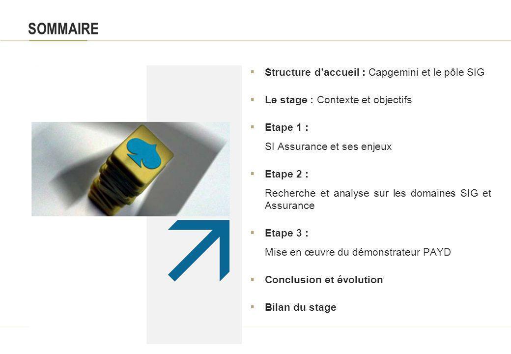 Apports des SIG dans le domaine de lAssurance Présentation du stage Master 2 SIG et Gestion de lEspace Parcours professionnel Promotion 2006-2007 Aute