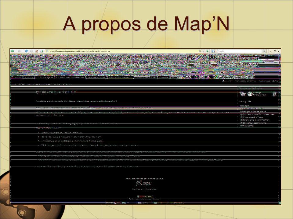A propos de MapN