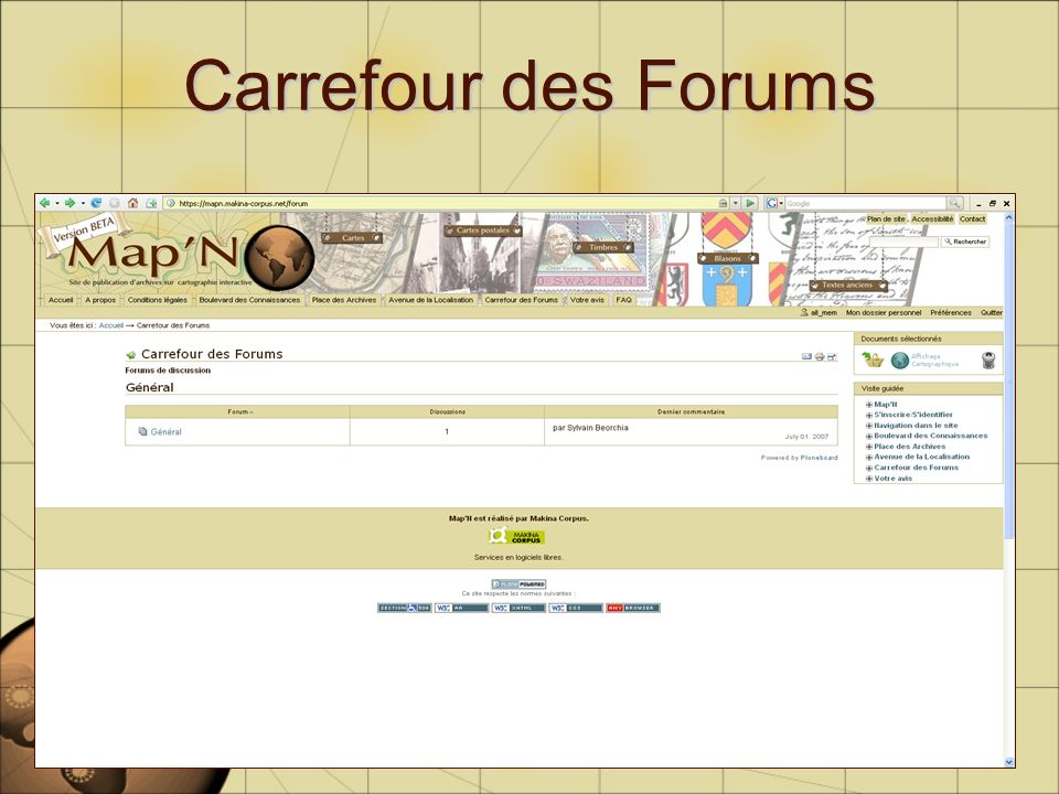 Carrefour des Forums