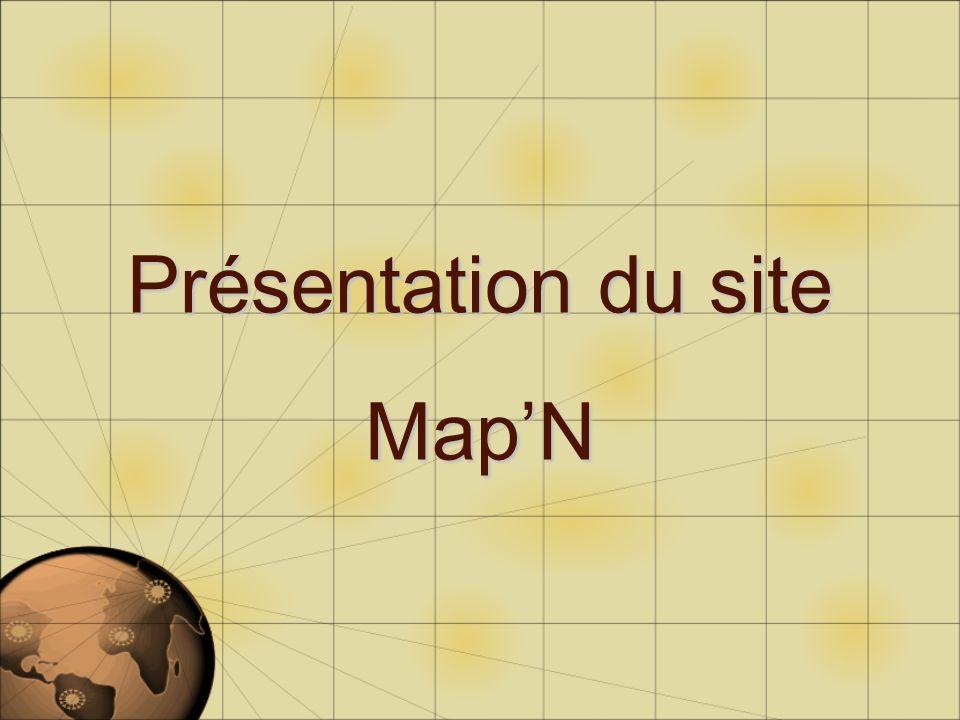 Présentation du site MapN