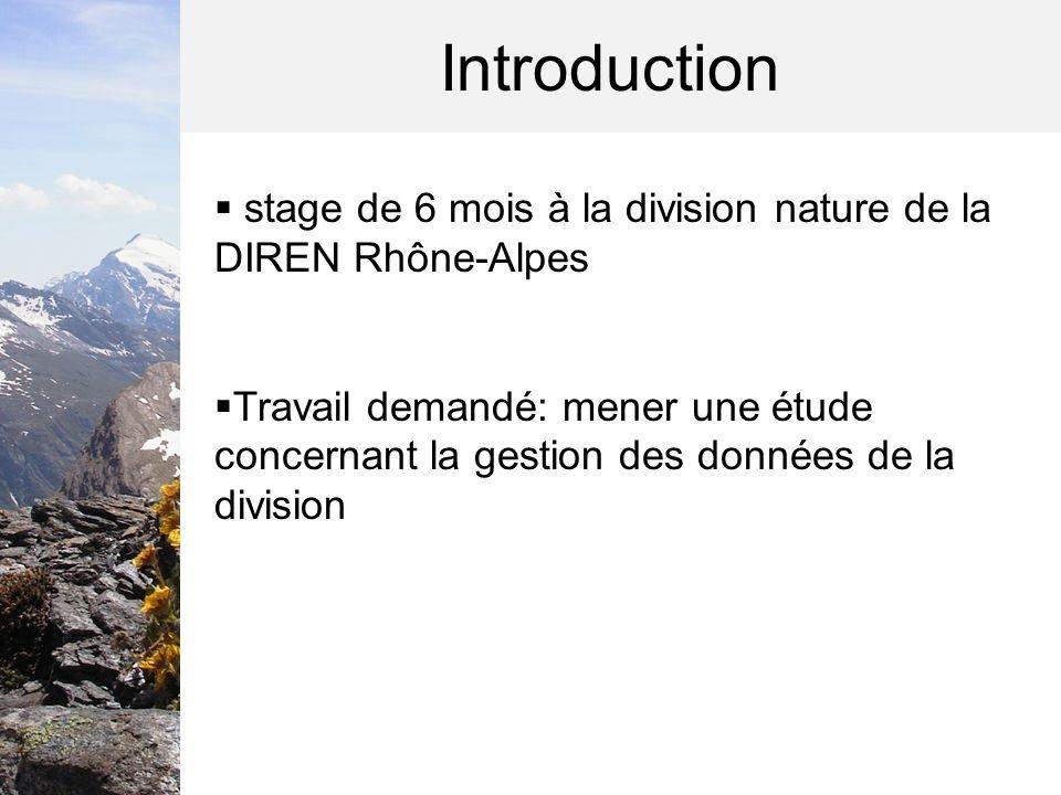 1.La démarche de létude 1.1 La gestion des données environnementales 1.2 Objectifs et méthodologie
