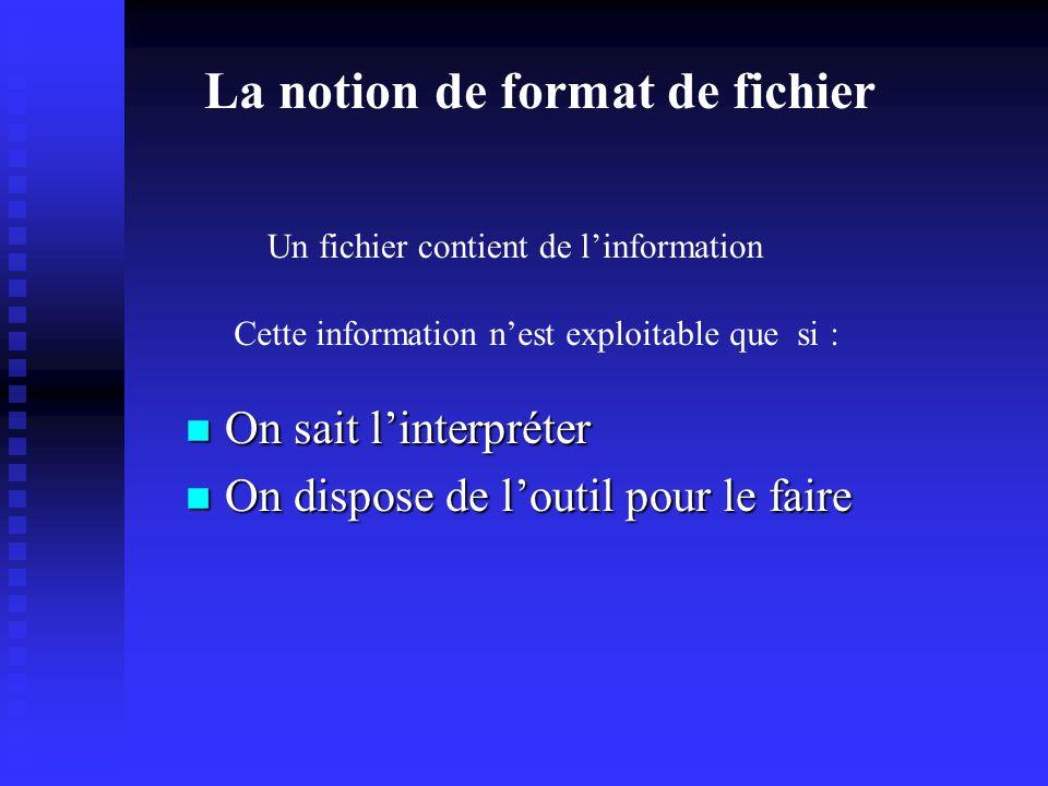 Stocker linformation: Les fichers Le système de fichier permet de : n Stocker linformation n Accéder à linformation