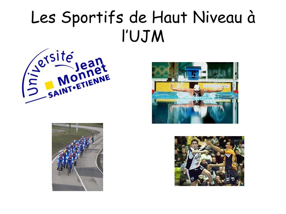 Les Sportifs de Haut Niveau à lUJM