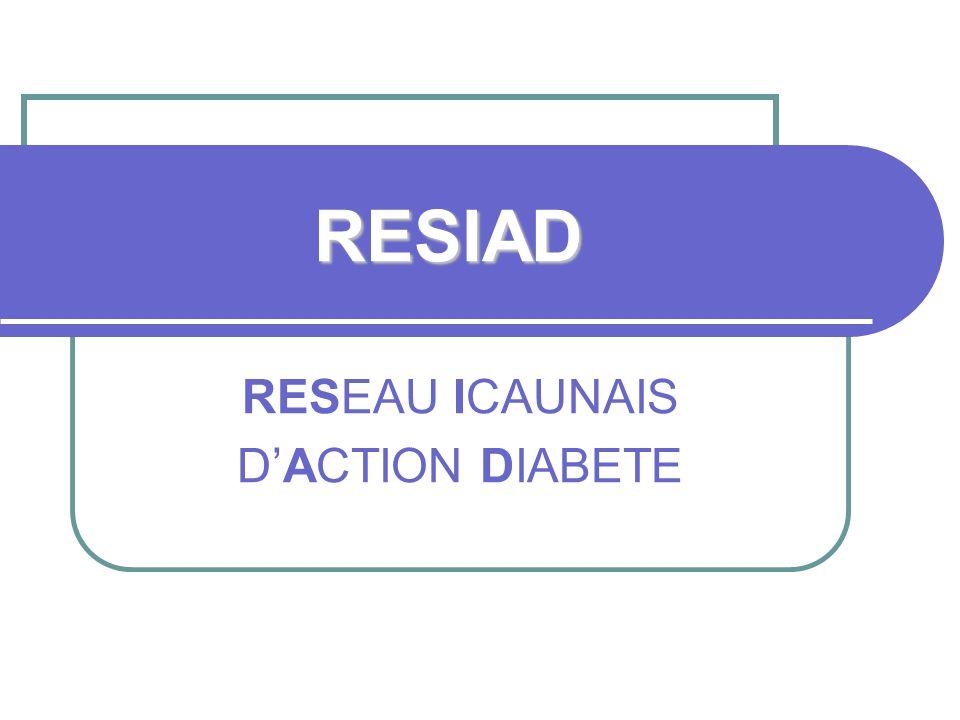 RESIAD RESEAU ICAUNAIS DACTION DIABETE