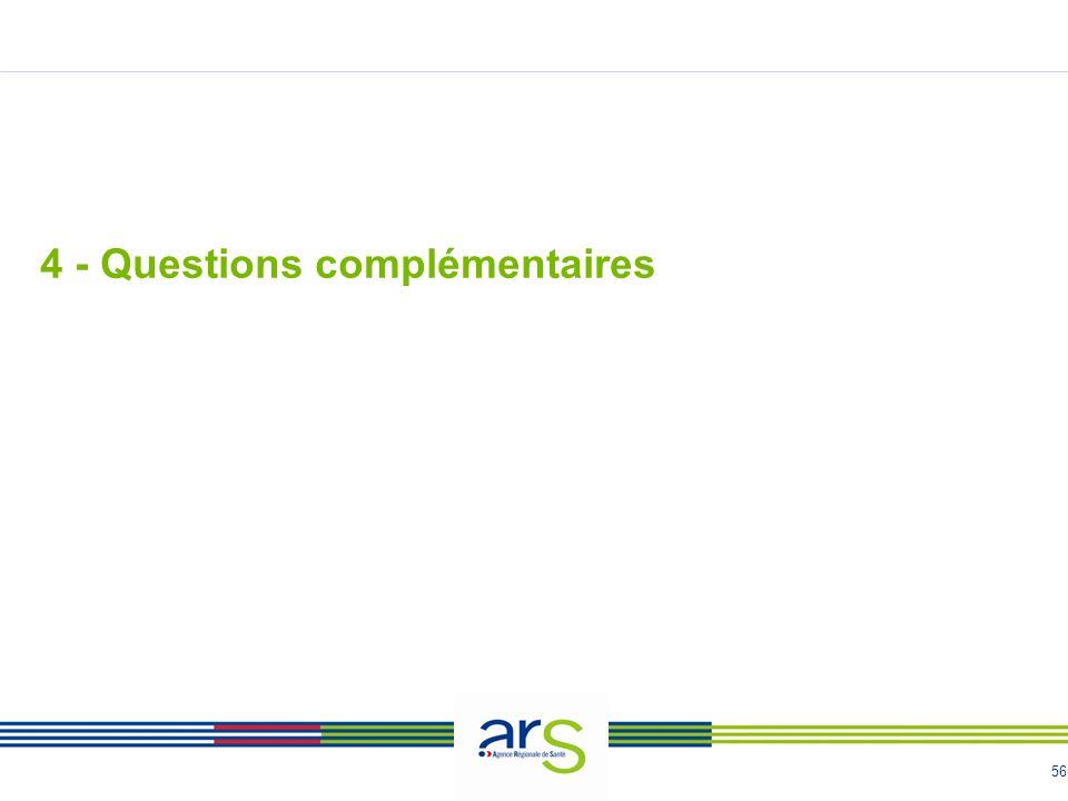 56 4 - Questions complémentaires
