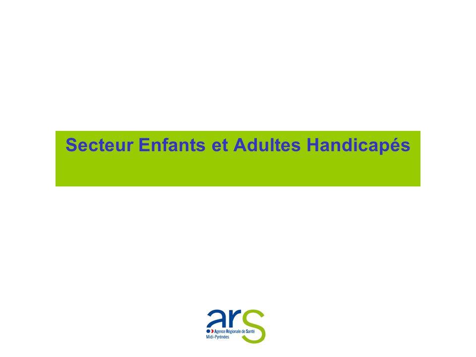 Secteur Enfants et Adultes Handicapés