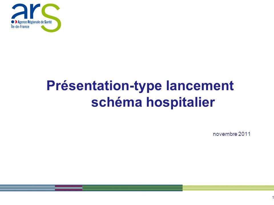 1 Présentation-type lancement schéma hospitalier novembre 2011