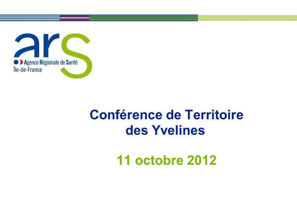 XX/XX/XX Conférence de Territoire des Yvelines 11 octobre 2012