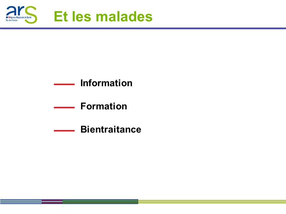 Information Formation Bientraitance Et les malades