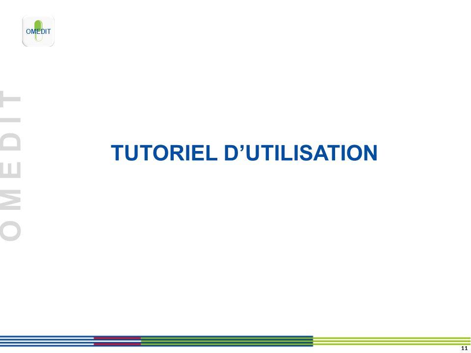 O M E D I T TUTORIEL DUTILISATION 11