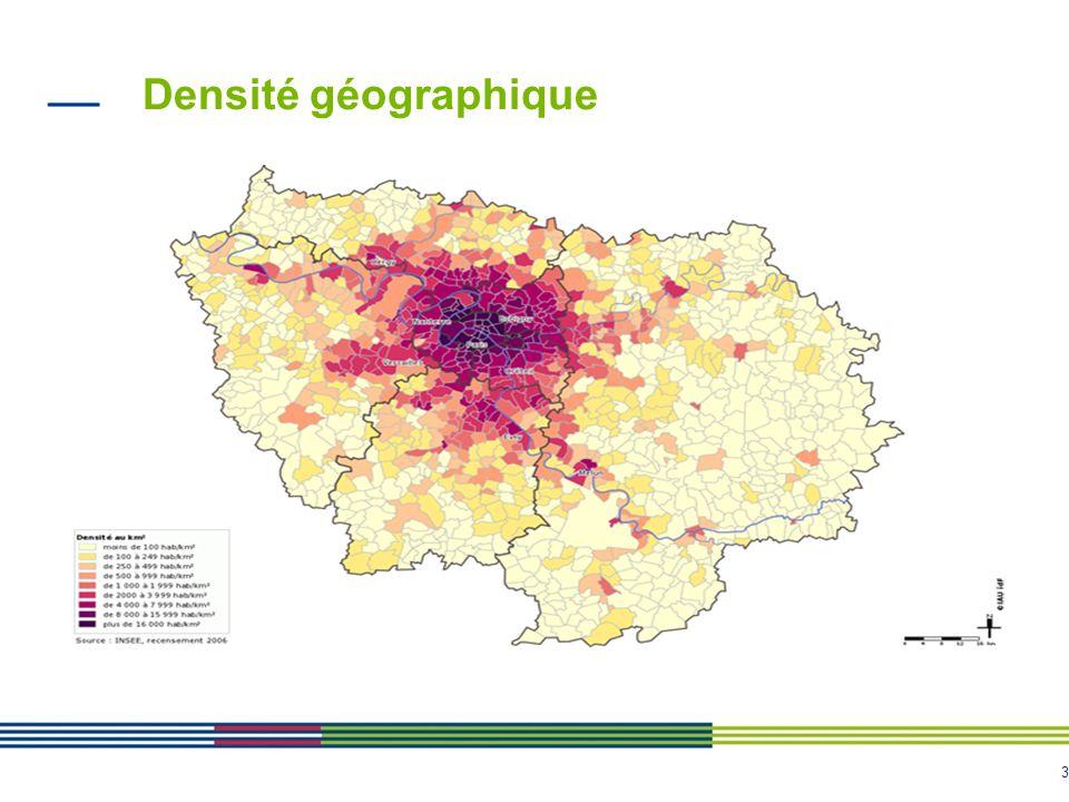 3 Densité géographique