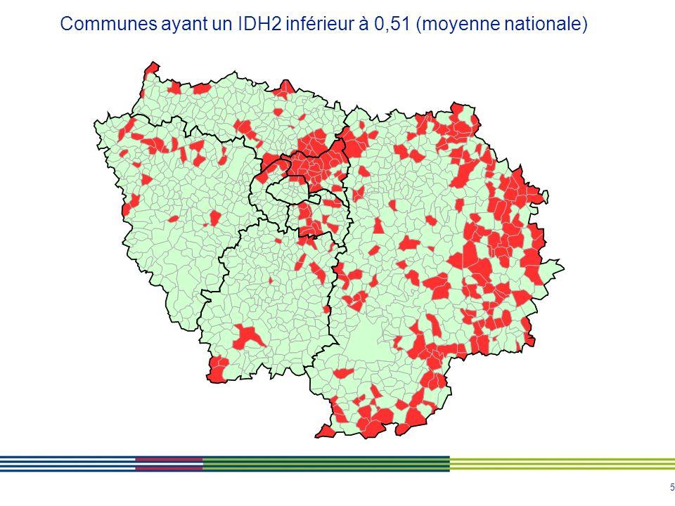 6 IDH2 2006 par commune