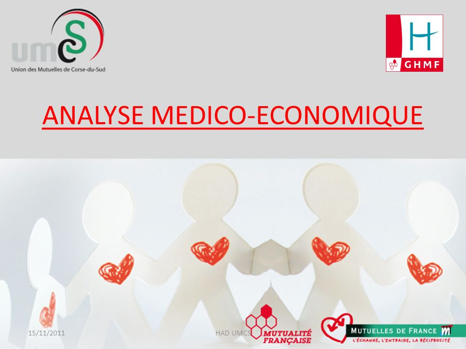 ANALYSE MEDICO-ECONOMIQUE 15/11/2011HAD UMCS