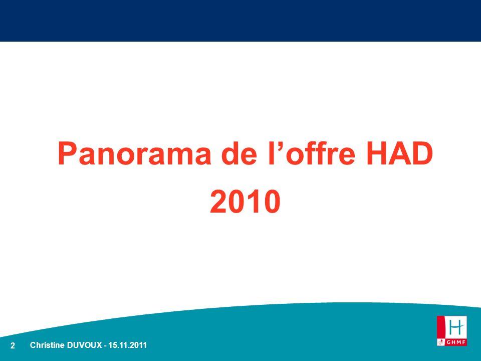 2 Panorama de loffre HAD 2010 Christine DUVOUX - 15.11.2011