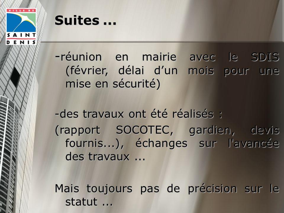 Suites...