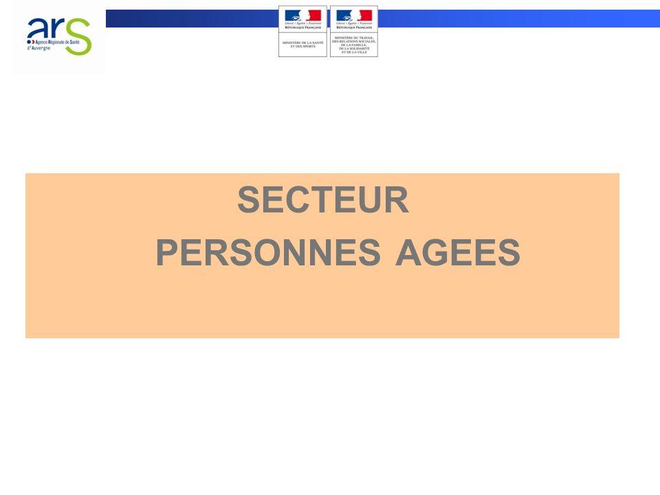 SECTEUR PERSONNES AGEES