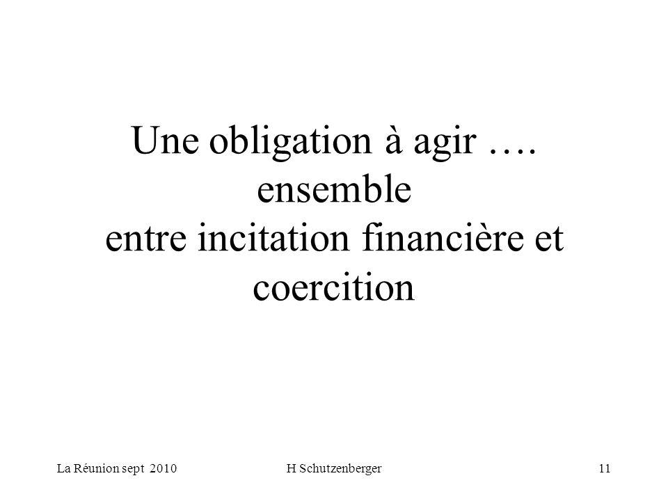 La Réunion sept 2010H Schutzenberger11 Une obligation à agir ….