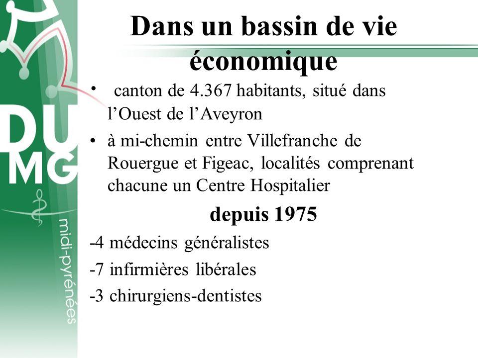 Dans un bassin de vie économique canton de 4.367 habitants, situé dans lOuest de lAveyron à mi-chemin entre Villefranche de Rouergue et Figeac, locali