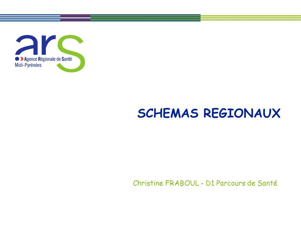 SCHEMAS REGIONAUX Christine FRABOUL - D1 Parcours de Santé